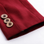 พรีออเดอร์ เสื้อสูทผู้หญิง เสื้อสูทสั้น แขนยาว คอวี ปกสูท สีแดง thumbnail 6