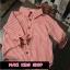 เสื้อเชิ้ตเด็ก สีแดงร่องขาว thumbnail 4
