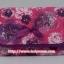 กระเป๋าเครื่องสำอางค์ นารายา ผ้าคอตตอน สีชมพู ลายดอกไม้ มีกระจกในตัว Size L (กระเป๋านารายา กระเป๋าผ้า NaRaYa) thumbnail 2