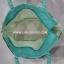 กระเป๋าถือ นารายา Summer Size S ผ้าคอตตอน สีเขียว ลายดอกไม้ ผูกโบว์ สายหิ้ว หูเกลียว (กระเป๋านารายา กระเป๋าผ้า NaRaYa กระเป๋าแฟชั่น) thumbnail 6