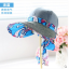 Pre-order หมวกแฟชั่น หมวกแก็ปปีกกว้าง หมวกฤดูร้อน กันแดด กันแสงยูวี สีฟ้าอ่อนแต่งด้วยผ้าพิมพ์ลายดอกไม้ thumbnail 6