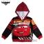 """ฮ """" Size S-M-L """" เสื้อแจ็คเก็ต Jacket Disney Cars เสื้อกันหนาว เด็กผู้ชาย สกรีนลาย คาร์ สีแดง รูดซิป มีหมวก(ฮู้ด)สีดำ ใส่คลุมกันหนาว กันแดด ใส่สบาย ดิสนีย์แท้ ลิขสิทธิ์แท้ thumbnail 3"""