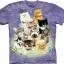 Pre.เสื้อยืดพิมพ์ลาย3D The Mountain T-shirt : 10 Kittens thumbnail 1