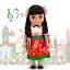 z Disney ''it's a small world'' Maxico Singing Doll - 16'' (พร้อมส่ง) thumbnail 1