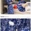 KTFN ชุดเดรสยีนส์เข้ารูป ลายดอกตามภาพ กระดุมแดง พร้อมเข็มขัด thumbnail 8