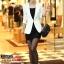 Pre-Order เสื้อสูททำงานแขนยาว เสื้อสูทผู้หญิง สูทลำลอง สีขาว แฟชั่นชุดทำงานสไตล์เกาหลี thumbnail 2