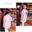 เสื้อสูท blazer เบลเซอร์ เด็กสีชมพู thumbnail 4