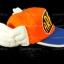 หมวก ARALE อาราเล่ สีส้ม thumbnail 3