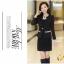 Pre เสื้อสูทผู้หญิง สูทบาง ฝีมือตัดเย็บระดับ High -end เสื้อผ้าแฟชั่นสไตล์เกาหลี แขนยาว สีดำ thumbnail 3