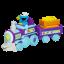 Sesame Street Cookie Monster Food Train Playskool ของแท้ นำเข้าจากอเมริกา thumbnail 2