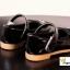 รองเท้าเด็กผู้หญิงคัทชูสีดำหน้าแมว thumbnail 3