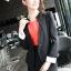 เสื้อสูทผู้หญิง สูทบาง ฝีมือตัดเย็บระดับ High -end นำเข้าจากประเทศเกาหลีแท้ แขนยาว สีส้มโอลด์โรส thumbnail 10