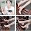 พรีออเดอร์ รองเท้าแฟชั่นผู้หญิง ส้นสูง หัวแหลม หนังแท้ สีเหลือง Brand: Xuan Hong Mi เสื้อผ้าแฟชั่นสไตล์เรโทร thumbnail 4