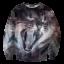เสื้อยืดพิมพ์ลาย MR.GUGU & Miss GO : Galaxy Cat Sweater thumbnail 1