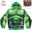 """"""" S-M-L-XL """" เสื้อแจ็คเก็ต เสื้อกันหนาว เด็กผู้ชาย สกรีนลายเกราะ Super Hero The Hulk สีเขียว รูดซิป มีหมวก(ฮู้ด)สกรีนหน้า The Hulk ใส่คลุมกันหนาว กันแดด สุดเท่ห์ ใส่สบาย ลิขสิทธิ์แท้ (ไซส์ S-M-L-XL ) thumbnail 8"""