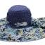 Pre-order หมวกปีกกว้างแฟชั่นฤดูร้อน กันแดด กันแสงยูวี สวยหวานเรียบหรู ดูดี สีน้ำเงินลายฟ้า thumbnail 1