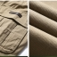 Pre-order กางเกงขายาว กางเกงธุรกิจ แฟชั่นสไตล์อเมริกันคลาสสิก หนุ่มมาดเท่ ขาลุย สีกากี NIAN Jeep thumbnail 5