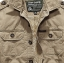Pre-order เสื้อแจ็คเก็ต เสื้อคลุมกันหนาว กันหนาว แฟชั่นสไตล์อเมริกันคลาสสิก อปก หนุ่มมาดเท่ ขาลุย สีดำ NIAN Jeep thumbnail 5