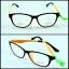 กรอบแว่น LENMiXX Oran Black thumbnail 1