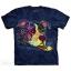 Pre. เสื้อยืดพิมพ์ลาย 3D The Mountain T-shirt : GIVE LOVE T-SHIRT thumbnail 1