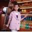 เสื้อสูท blazer เบลเซอร์ เด็กสีชมพู thumbnail 1