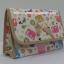 กระเป๋าเครื่องสำอางค์ นารายา ผ้าคอตตอน ลายช้าง หลากสี มีกระจกในตัว Size L (กระเป๋านารายา กระเป๋าผ้า NaRaYa) thumbnail 1