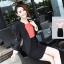 เสื้อสูทผู้หญิง สูทบาง ฝีมือตัดเย็บระดับ High -end นำเข้าจากประเทศเกาหลีแท้ แขนยาว สีน้ำดำ thumbnail 1