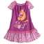 z Rapunzel Nightshirt with Cap Sleeves for Girls thumbnail 1