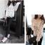 KTFN เสื้อแฟชั่น ผ้าลูกไม้โครเชต์ซีทรู แขนยาว สีขาว thumbnail 9