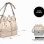 Pre-order กระเป๋าสะพายผู้หญิง Jinfenshijia กระเป๋าสไตล์ยุโรปอเมริกัน หนัง PU สีชมพู thumbnail 3