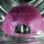 หมวก Cap กากเพชร กลิตเตอร์ สีชมพูอมม่วง thumbnail 4