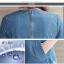 ชุดเดรสยีนส์ แต่งซีดช่วงอก มีซิปด้านหลัง ดีเทล ชายโค้ง ผ่าด้านข้าง แต่งขาดรุ่ยๆ thumbnail 15