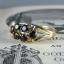Pre-Order แหวนทองพลอยโกเมน แหวนทองสไตล์วินเทจ โบฮีเมียน แหวนทองสไตล์ของเก่าประมาณปี 1950s thumbnail 2