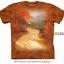 Pre.เสื้อยืดพิมพ์ลาย3D The Mountain T-shirt : Autumn Lane MD thumbnail 1