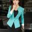 เสื้อสูทผู้หญิง สูทบาง ฝีมือตัดเย็บระดับ High -end นำเข้าจากประเทศเกาหลีแท้ แขนยาว สีส้มโอลด์โรส thumbnail 7