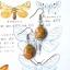 ++ ต่างหู Crazy Lace Agate เครซี่เลซอาเกต ทรงรูปไข่ ++ thumbnail 2