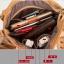 (Pre-order) กระเป๋าสะพายหนังแท้แบบเรียบๆ แฟชั่นกระเป๋าถือ ถุงสะพาย กระเป๋าสะพายสไตล์ยุโรป อเมริกา สีดำ thumbnail 9