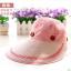 Pre-order หมวกแฟชั่น หมวกแก็ปปีกกว้าง หมวกฤดูร้อน กันแดด กันแสงยูวี สีชมพู thumbnail 3