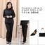 (Pre-order) เสื้อเชิ้ตดำ เสื้อเชิ้ตแขนยาวสีดำผู้หญิง ไซส์ใหญ่ thumbnail 6