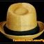 หมวกสาน ทรงไมเคิล สีน้ำตาลอ่อนขอบเรียบ แถบดำ ฮิตๆ !!! thumbnail 4