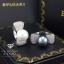 พร้อมส่ง ~ Bracelet+Ring+Earring Setงานเพชร CZ แท้งานเกรดไฮเอนค่ะ เพชร CZ thumbnail 4