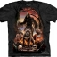 Pre.เสื้อยืดพิมพ์ลาย3D The Mountain T-shirt : Deaths Pack thumbnail 1