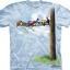 Pre.เสื้อยืดพิมพ์ลาย3D The Mountain T-shirt : Bird Tree thumbnail 1