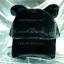 หมวก Bear หูหมี ขนสัตว์นุ่มๆ สีดำ thumbnail 2