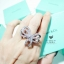 พร้อมส่ง ~ กำไล & ต่างหู & แหวน ดีไซด์โบว์น่ารักมากกก งานเพชร CZ แท้ เอาใจสาวๆ thumbnail 9