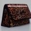 กระเป๋าเครื่องสำอางค์ นารายา ผ้าคอตตอน ลายเสือ มีกระจกในตัว Size L (กระเป๋านารายา กระเป๋าผ้า NaRaYa) thumbnail 1