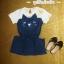 ชุดเดรสแขนสั้น เดรสแมว thumbnail 3