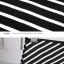 Pre-Order กระโปรงทำงานทรงดินสอ เอวสูง ความยาวคลุมเข่า ทบผ้าด้านหน้าเก๋ ๆ ลายริ้วสีขาวสลับดำ thumbnail 5
