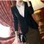 พรีออเดอร์ เสื้อสูททำงาน เสื้อสูทผู้หญิง แฟชั่นเสื้อสูทสไตล์เกาหลี thumbnail 14