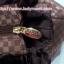 กระเป๋าถือ นารายา ผ้าซาตินมัน ลายตารางเล็ก สีน้ำตาล มีระบายด้านบน สายหิ้ว หูเปีย (กระเป๋านารายา กระเป๋าผ้า NaRaYa กระเป๋าแฟชั่น) thumbnail 7